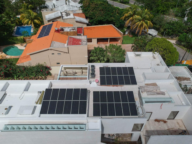 Paneles Solares para casas en construcción